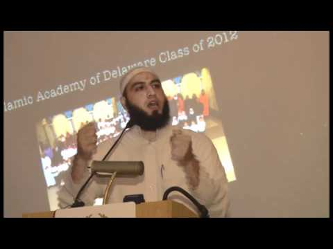 Islamic Academy of Delaware (IAD) Graduation Ceremony Part 4: Shiekh Abdul Hadi Shehata