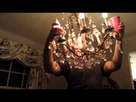 David Dupont vs the Chandelier June Karaoke night 2014