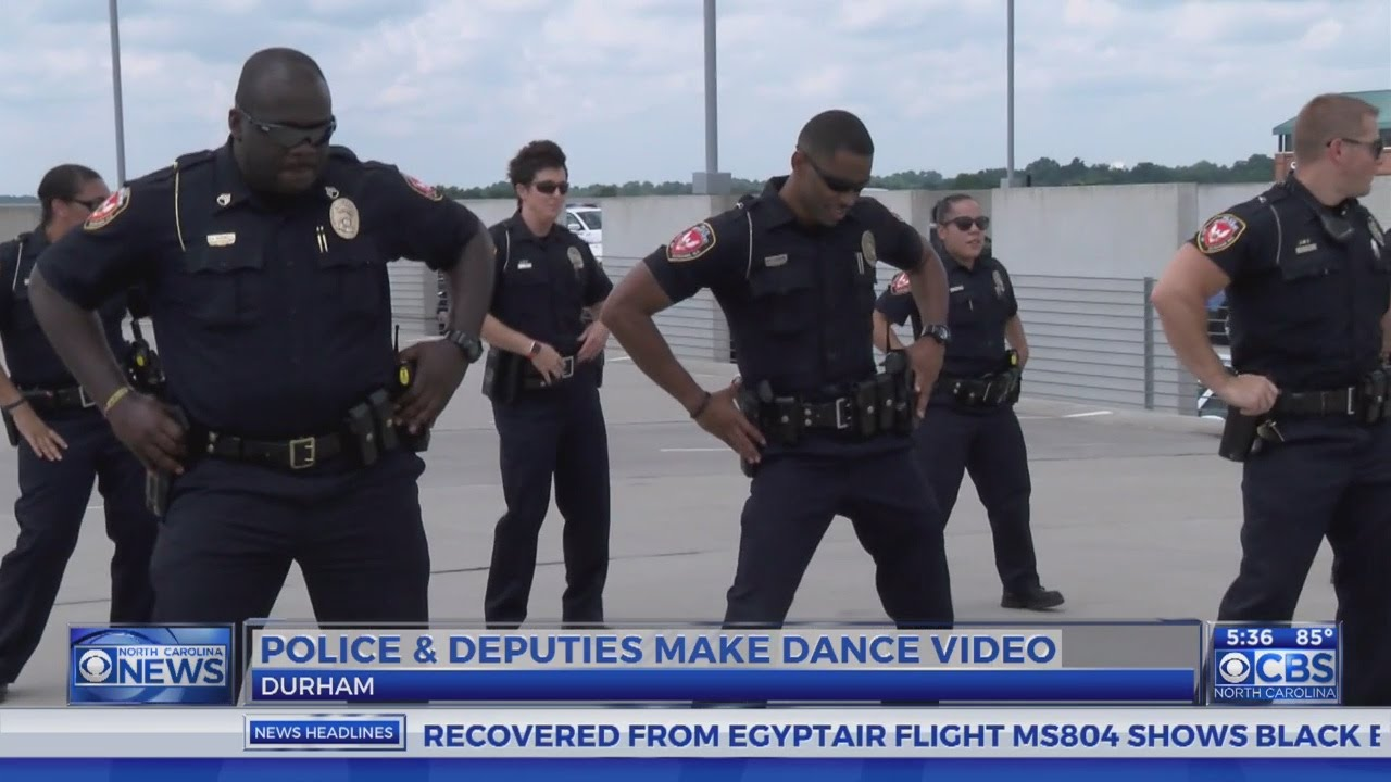 Durham Law Enforcement Team Up To Bust A Move Youtube