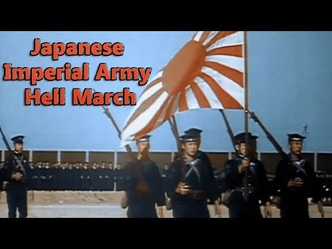Japanese Imperial Army Hell March WW2