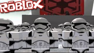 Roblox STAR WARS BATTLEFRONT / FIGHT THE REBELLION OR THE RESISTANCE!! Roblox