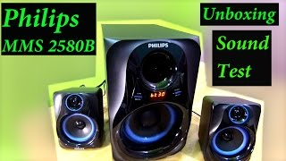 Philips MMS2580B 2.1 Home Theatre UnBoXing Sound TesT by AKS