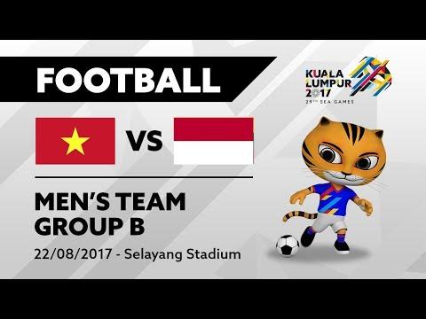 KL2017 29th Sea Games | Men's Football - VIE 🇻🇳 vs INA 🇮🇩 | 22/08/2017