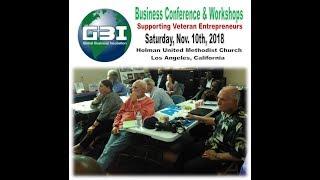 2018 short version GBI Veterans Business Conference with Reginald Grant Short Version