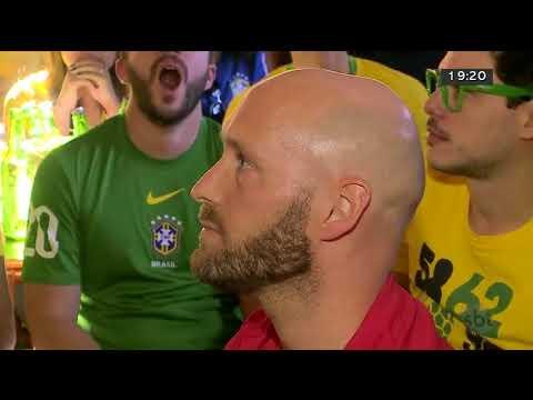 Como os brasilienses reagiram à eliminação do Brasil na Copa | Jornal SBT Brasília 06/07/2018