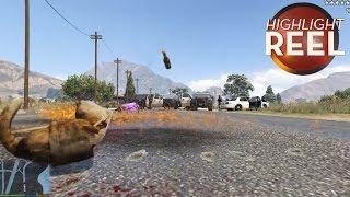 Highlight Reel #110 - GTA Cat Goes On Molotov Rampage