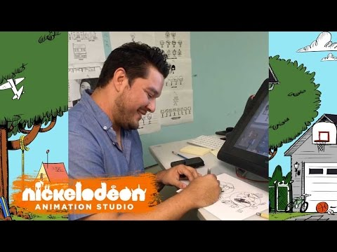 Artist Sessions: Miguel Puga | The Loud House | Nick Animation Studio