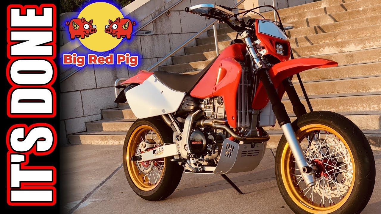 It's DONE! XR650R Supermoto Build 15