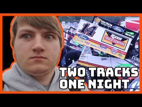 Visiting Two Race Tracks in One Day! (Port Royal, Clinton County) | Racing Vlog #17