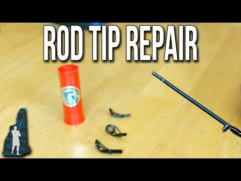 How To Replace A Broken Fishing Rod Tip