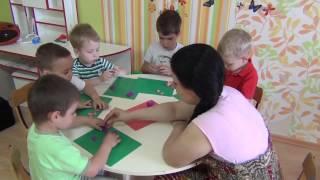 Занятие лепкой из пластилина дети до 5 лет [сказка 3 поросенка]
