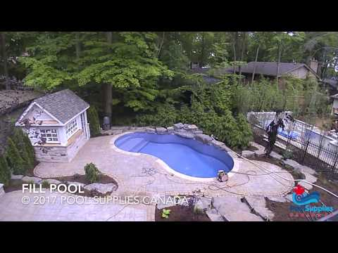 Inground Pool Installation - Step By Step Video By Pool Supplies Canada