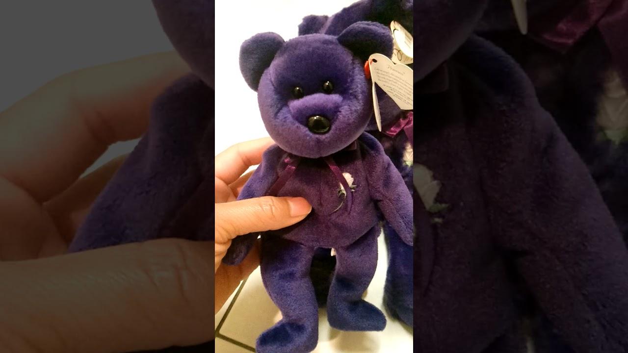 8bed676fed6 Princess Diana RARE 1997 Beanie Baby Original - YouTube