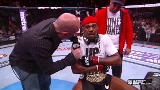UFC 159: Jones & Sonnen Octagon Interviews