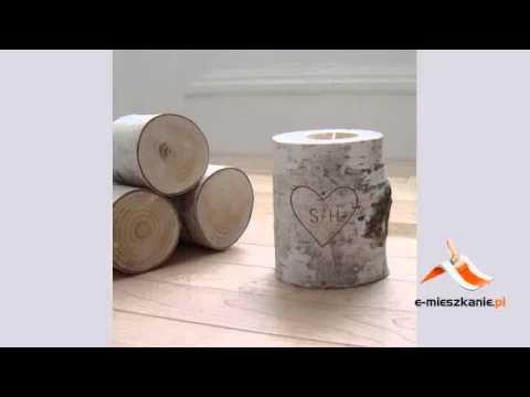 Dekoracje Z Drewna 10 Pomysłów