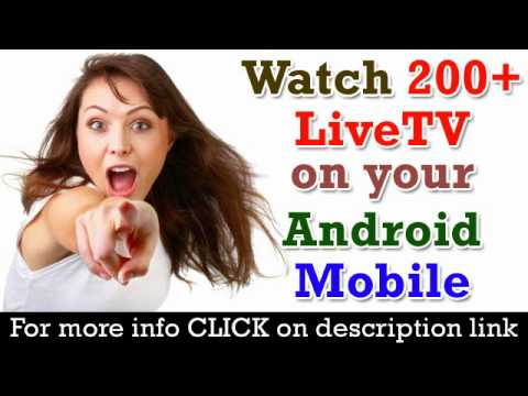 Watch Live TV Shows on Android Mobile Phone