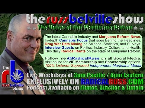 The Russ Belville Show #919 - Medical Marijuana Keeps Marching Into the Pharmaceutical Box Canyon