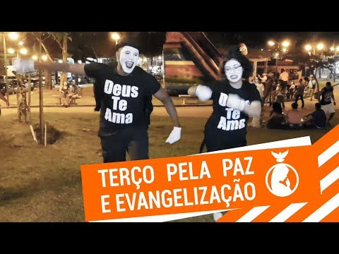 É Só Alegria // Terço Mariano e Evangelização Ousada em Anchieta #11 // Eduardo Badu