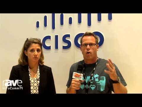InfoComm 2014: Gary Kayye Interviews Cisco's Angie Mistretta About its Collaboration Solutions