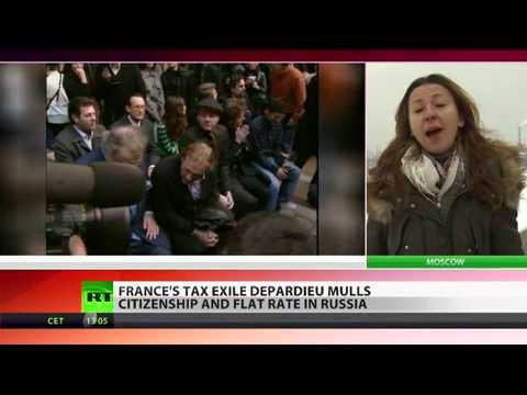 Putin grants citizenship to Depardieu