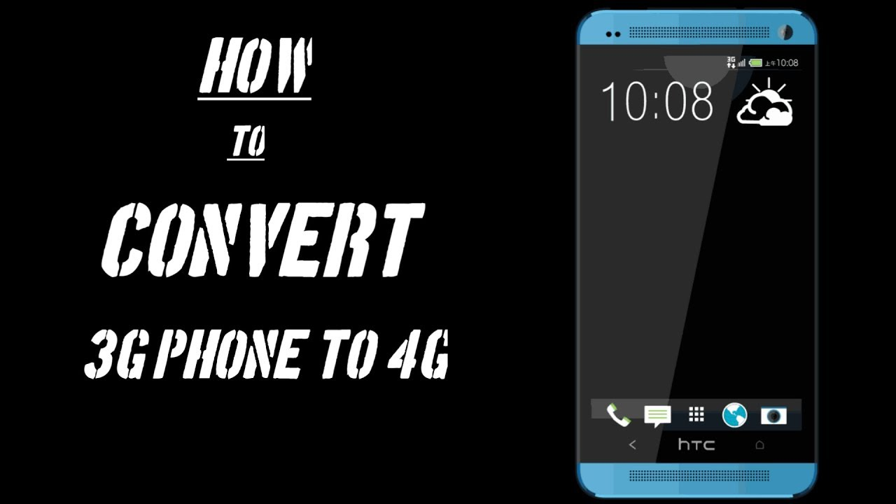How to convert 3G phone to 4G Tamil