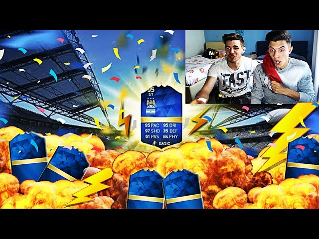AGUERO TOTS IN A PACK?! PACK OPENING  FIFA16!!!