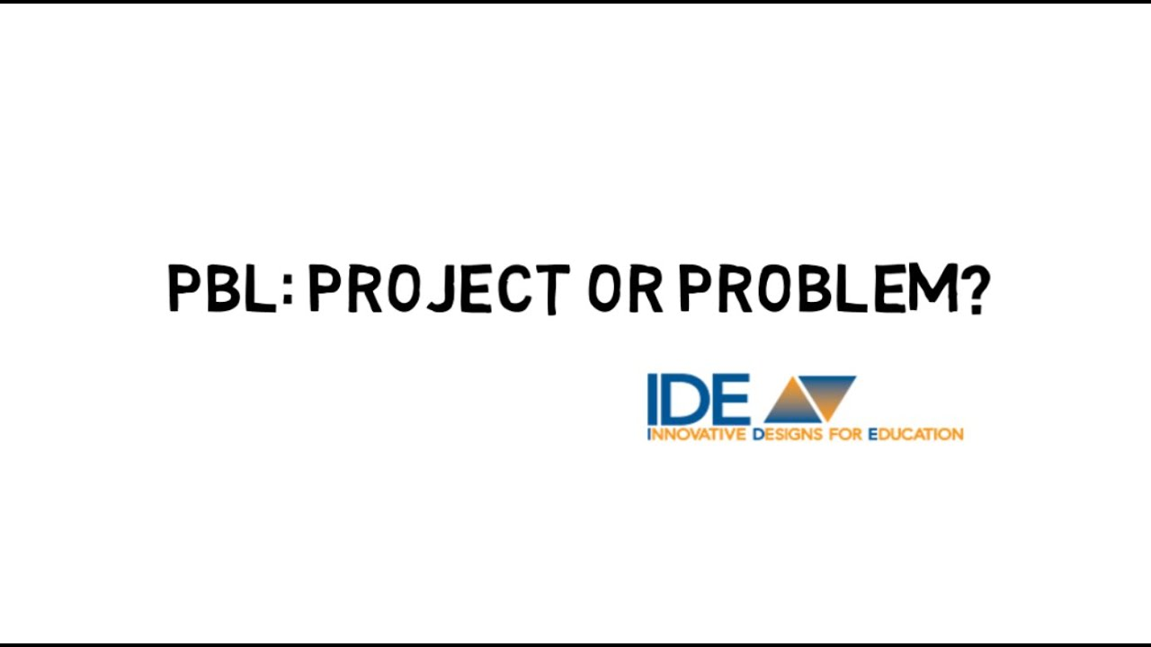 What's the difference between project-based and problem
