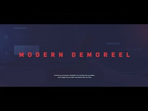 Universal demo reel l showreel after effects template youtube universal demo reel l showreel after effects template maxwellsz