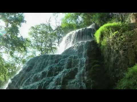 SPAIN  Monasterio de Piedra, Aragon (hd-video)