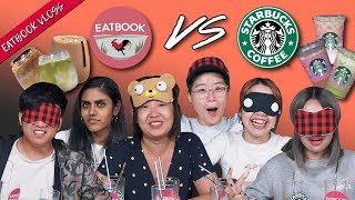 Eatbook VS Popular Starbucks Drinks   Eatbook Cooks   EP 2