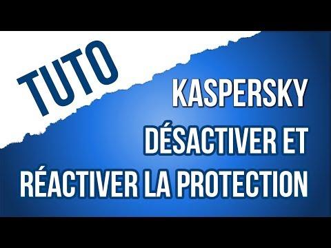 [TUTO] Comment désactiver et réactiver la protection anti-virus Kaspersky ?
