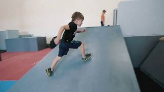 Parkour Kids Level Up at the Gym