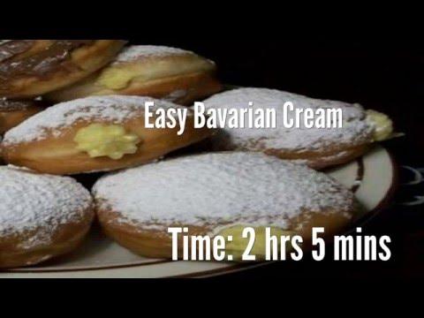 Easy Bavarian Cream Recipe