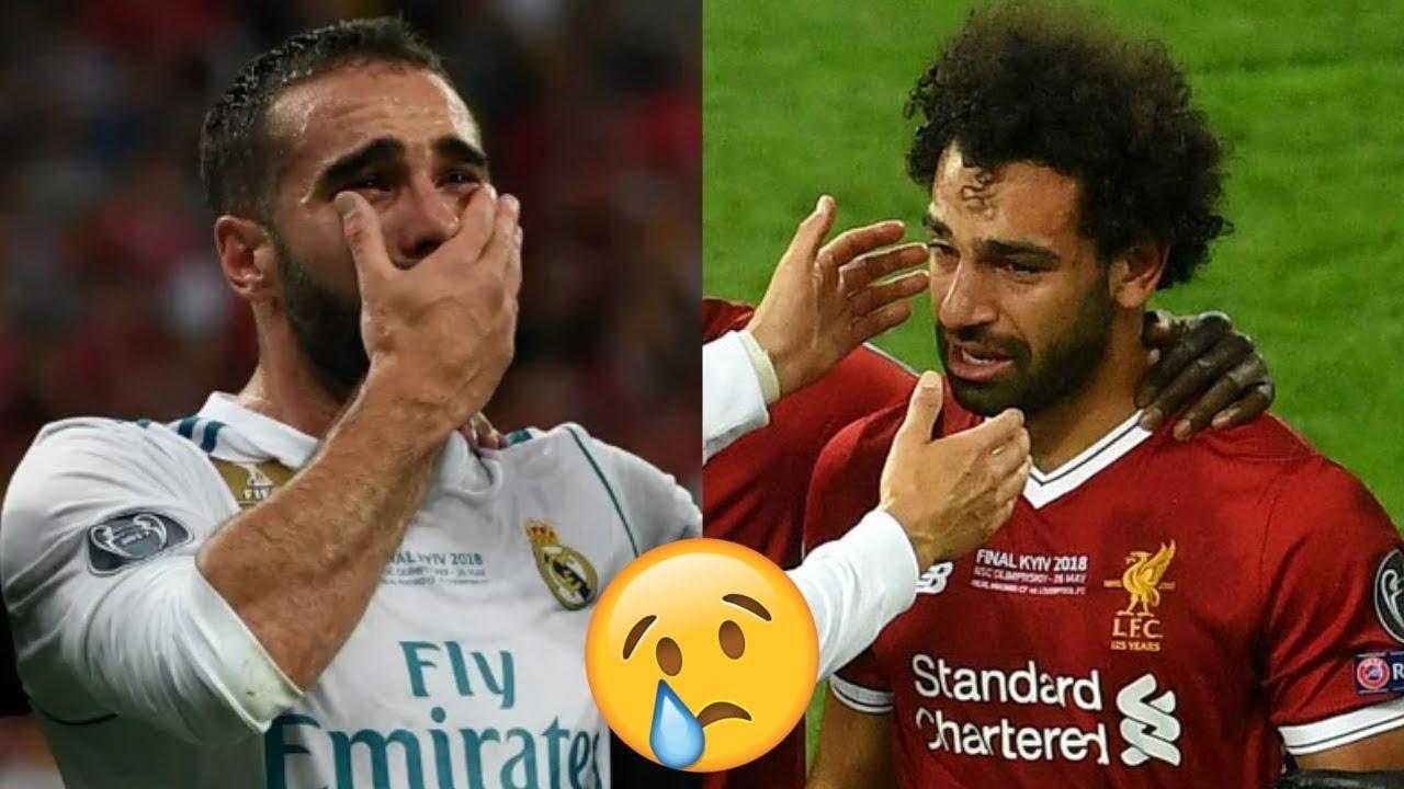 6 لحظات في كرة القدم جعلت العالم يبكي..!! أبرزها بكاء محمد صلاح