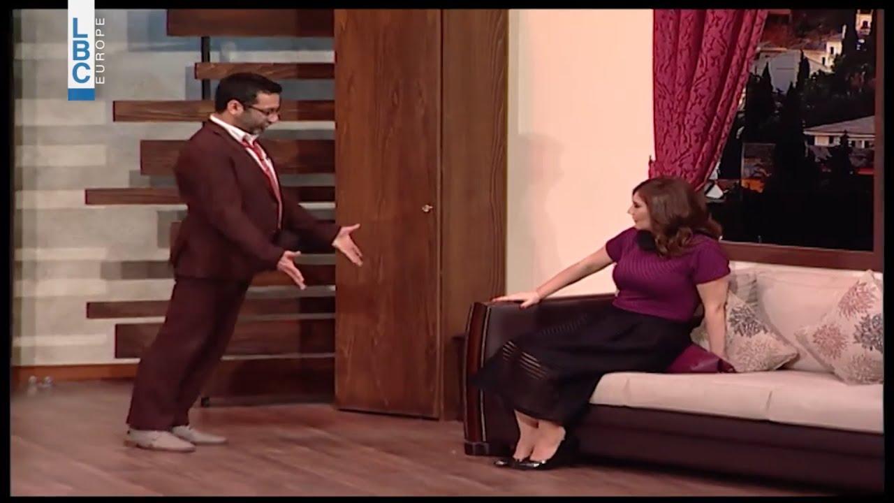من مسرحية -مع الوقت... يمكن- لجورج خباز: باخوس ضاع بين الB والP ????????????  - 22:55-2021 / 7 / 24