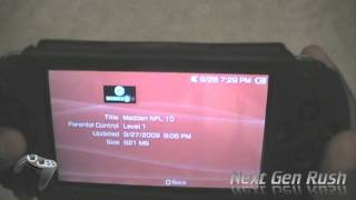 How to setup and play ISO/CSO games on PSP
