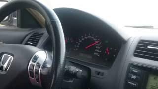 Honda Accord 2.4 acceleration 110-220kmh