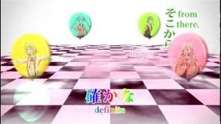 [Eng Sub] Circle of Friends [Hatsune Miku, GUMI, Kagamine Rin, IA, Aoki Lapis]