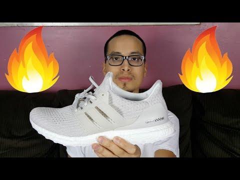Adidas Ultra Boost 4.0 Chalk Pearl Grey