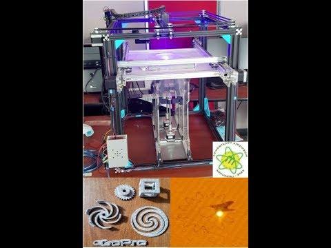Impresora 3D SLS /3D printer SLS
