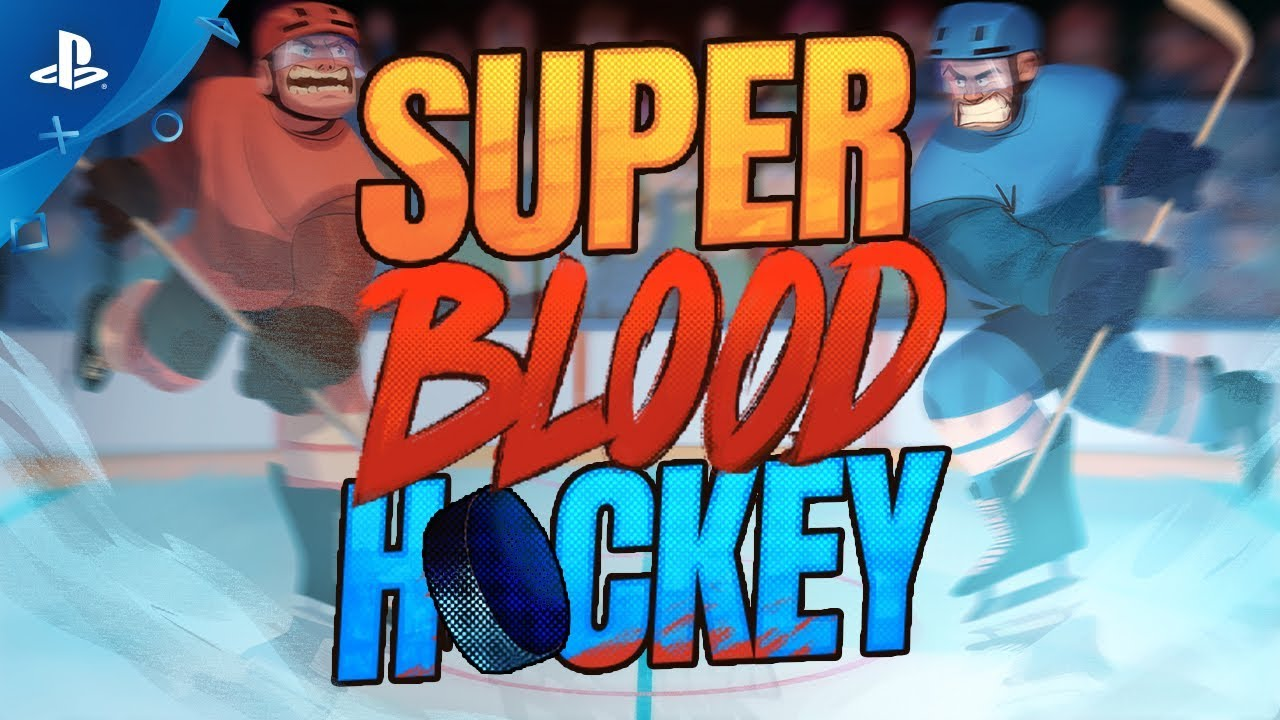 Super Blood Hockey Launch Trailer Ps4 Youtube