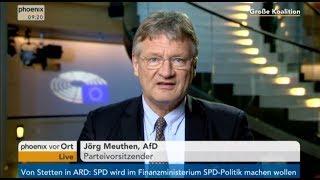 GroKo: Jörg Meuthen – AfD – aus Straßburg – 8.2.18