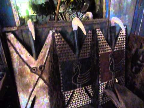 Masks African masks antique dan punu baule sun and dogon doors