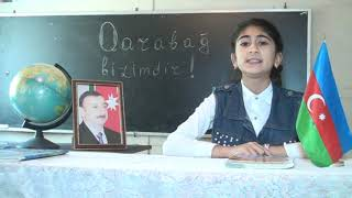 Gambar cover Bərdə rayon Nazırlı kənd 2 saylı tam orta məktəbin 6cı sinif şagirdlərindən ismarıc...