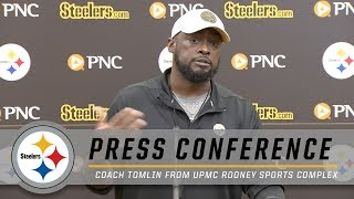 Tomlin wraps the Browns game, previews the Chiefs | Pittsburgh Steelers