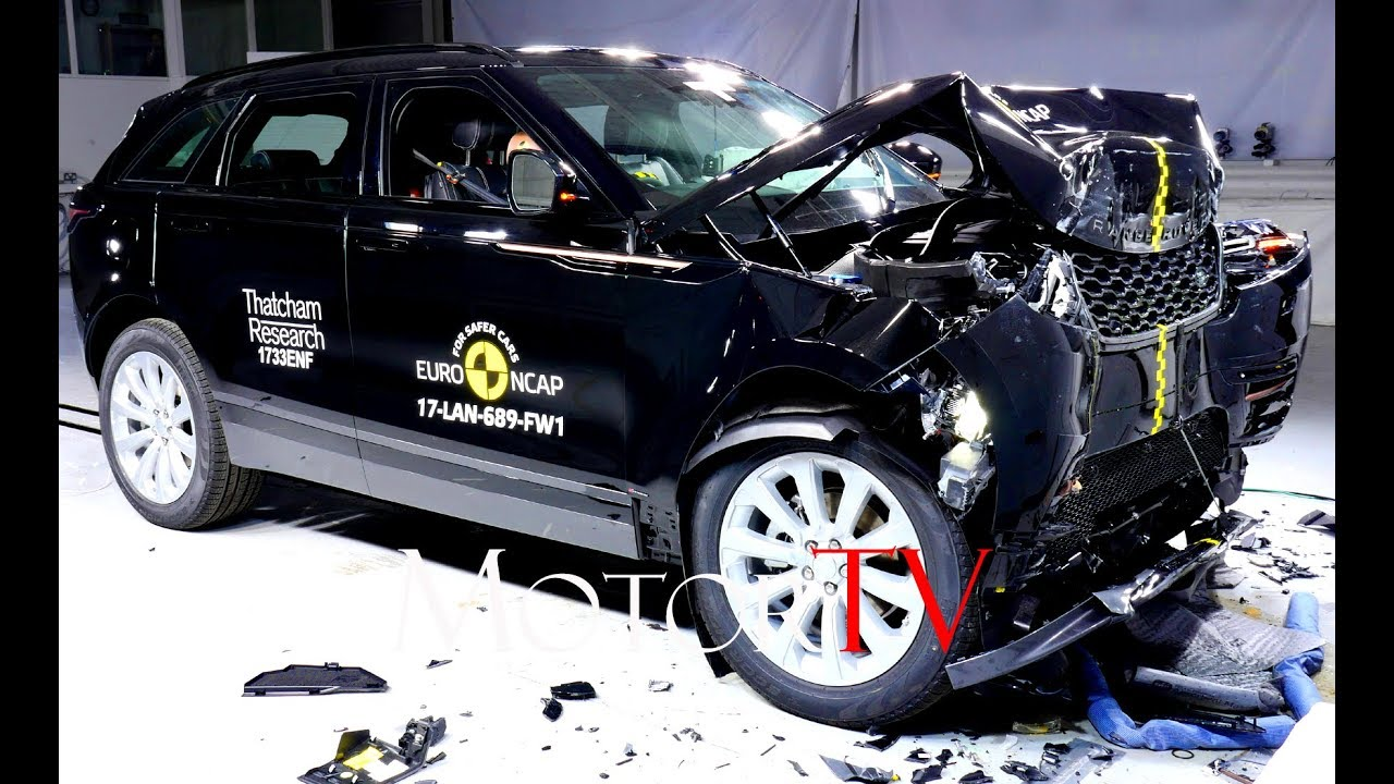 SAFETY  2018 RANGE ROVER VELAR CRASH TEST l Joins the Ranks of
