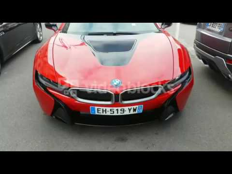 Bmw I8 Roadster 2017 New Red Colour Youtube