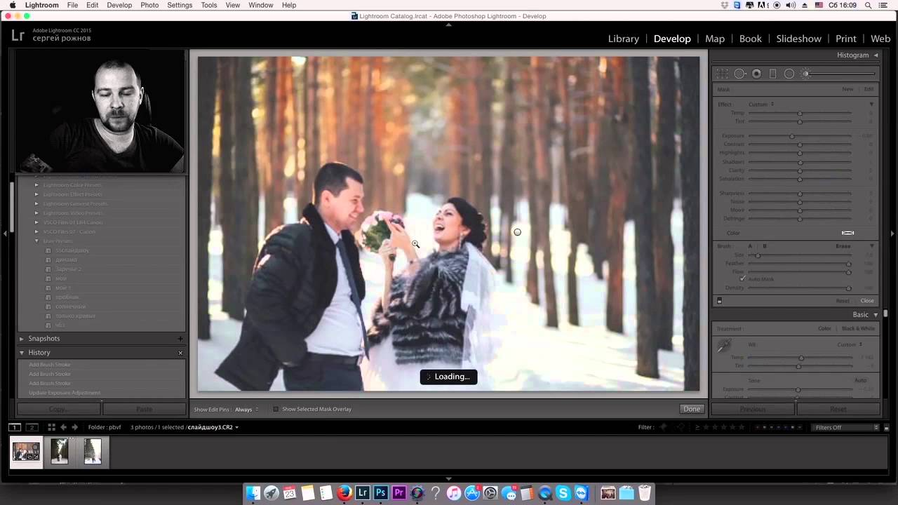 обработка зимних фото в лайтруме нашей базе множество