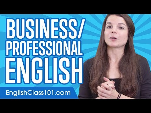 Learn English Business Language in 20 Minutes