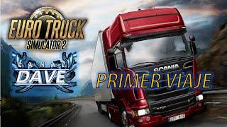 ETS 2 DÍA 1 | Primer viaje en el simulador de camiones. Euro Truck Simulator